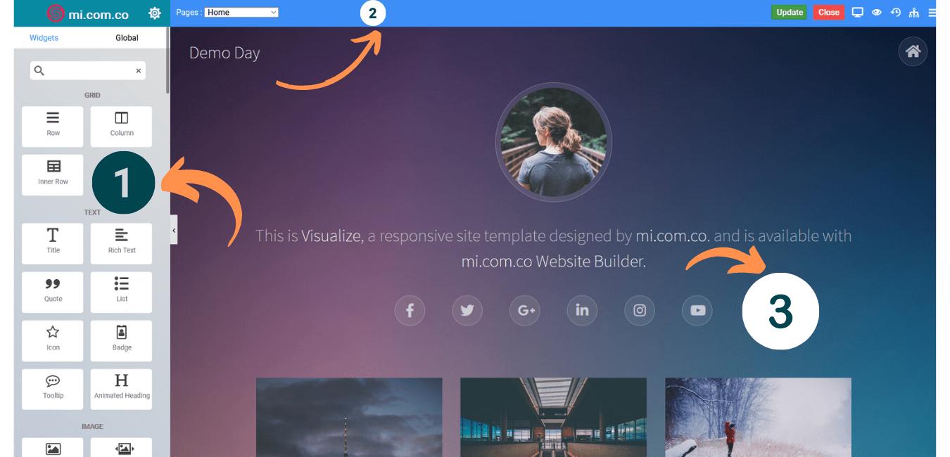 Detalles SitePad